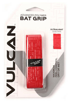 Vulcan V050-RED Ultralight Bat Grip 0.500 mm Bright Red