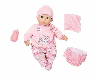 Zapf Puppe My First Baby Annabell I Care for You 36cm Babypuppe Geschenk 794326