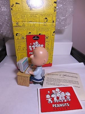 Peanuts Snoopy Charlie Brown has Cyber Chuck from Hallmark Qpc# 4062 new in box