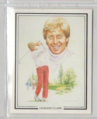 #6 Howard Clark - The Ryder Cup 1987 Winners Collector Card