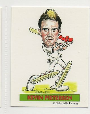 #6 Kevin Pietersen  Cricket Collector Card