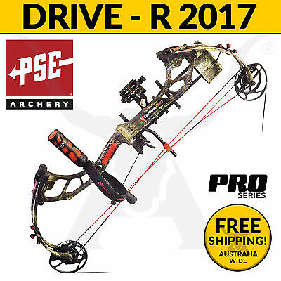 PSE Archery Drive R 2017 PRO Compound Bow - Bowhunting and 3D Target Shooting