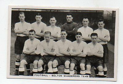 #60 1930s BOLTON wanderers team - Collector Sports card