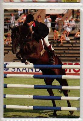 #61 Pierre Durand FRA jumping equestrian collector card
