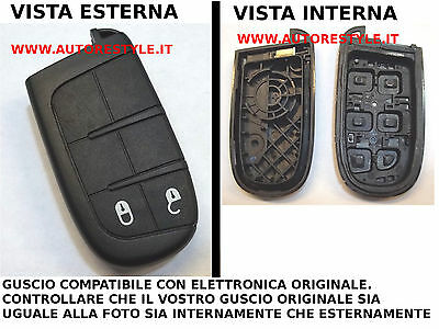 Cover Case 2 Buttons For Key Remote Control Fiat Freemont Only Se Equal A Photo