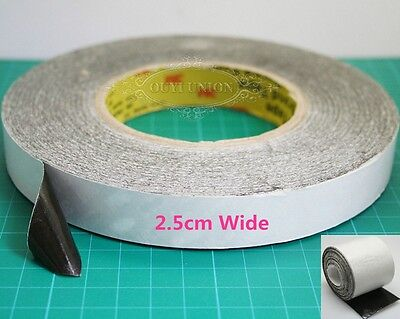 5Meter long 2.5cm Wide Heatsink Double sided Thermal Adhesive Tape for Heat Sink