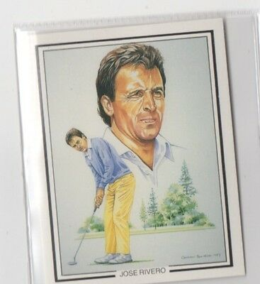 #8 Jose Rivero - The Ryder Cup 1987 Winners Collector Card