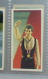 #8 john curry figure skating  - Sport card