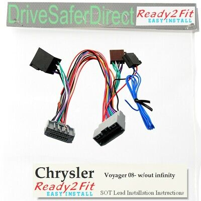 ISO-SOT-0880-e Lead,cable,adaptor for Parrot Jeep Wrangler