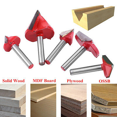 6mm 60° 90° 120° 150° V-Groove Router Bit Carbide CNC Woodworking Milling Cutter