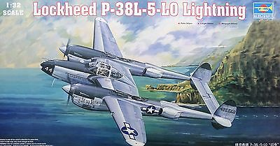 TRUMPETER® 02227 Lockheed P-38L-5-LO Lightning in 1:32