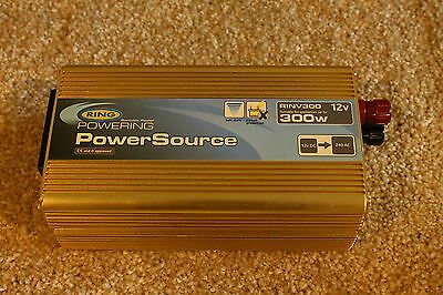Ring Automotive GOLD 300W (12v DC) PowerSourcePro Inverter - 30d RTB