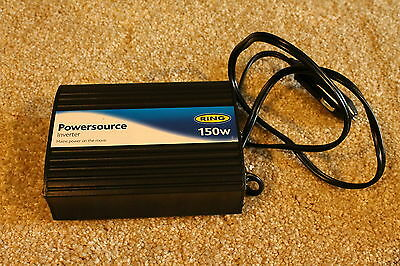 Ring Automotive 150W (12v DC) PowerSourcePro Inverter - 30d RTB