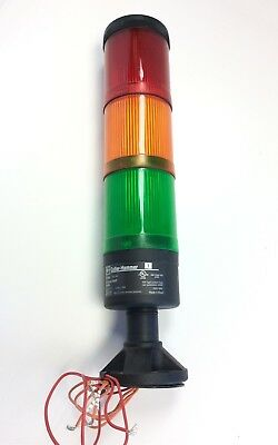 Cutler-Hammer E26BL Base Stacklight Red Green Amber Stack Light 250V Rating