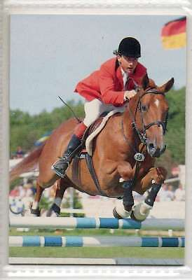 #88 Peter Charles IRL Jumping equestrian collector card