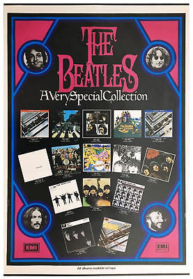 The Beatles A Very Special Collection UK EMI Promotional Poster