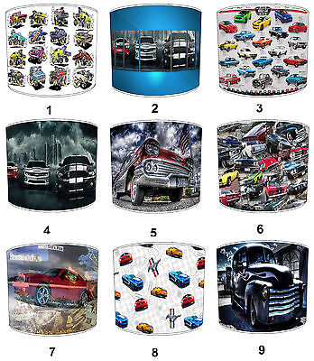 Lampshades Ideal To Match American Muscle Car Duvets American Muscle Car Cushion