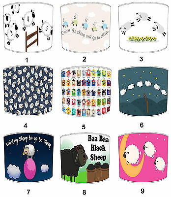 Lampshades Ideal To Match Sheep Duvets Sheep Cushions Sheep Wall Decals Stickers
