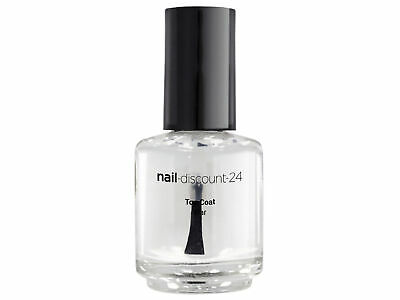 TOP COAT 15ml Überlack Versiegler Hochglanz Finish Klarlack Nagellack NAILS