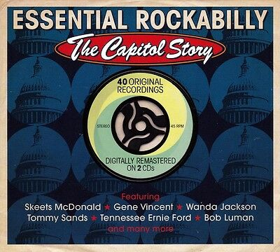 Essential Rockabilly - The Capitol Story (New Sealed 2Cd)