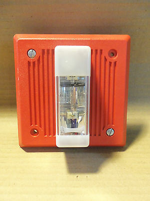 Wheelock EH-DL1-WM-24 Red Strobe Fire Alarm