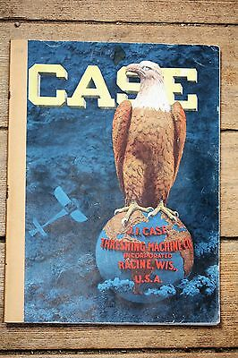 ORIGINAL 1916 J.I. Case Threshing Machinery Catalog, Excellent Condition