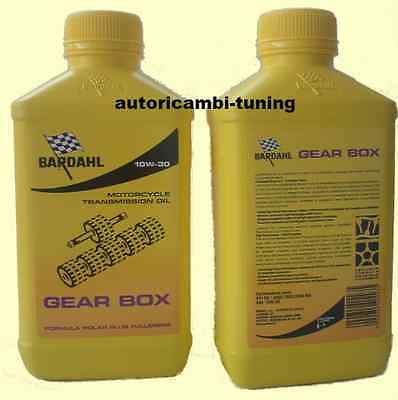 1 LITRO ACEITE Bardahl Bardhal ENGRANAJE BOX 10W30 MOTO SCOOTER 2T