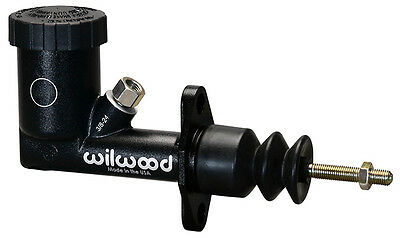 """Wilwood Gs Compact Integral Master Cylinder,0.700"""" Bore,aluminum,black"""