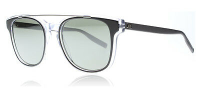 3762083bb0 New Dior Sunglasses BLACKTIE 211 S LCVEL Matte Black Crystal Clear Authentic