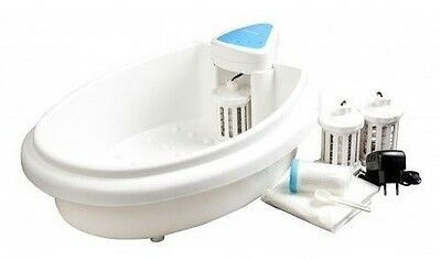 Electrolysis Foot Bath hydrosana with 3 Cleaning, Activation Salt and 20