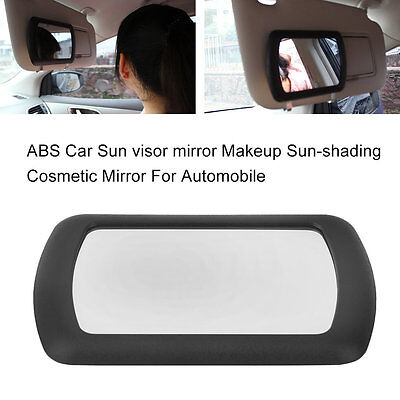 ABS Car Sun visor mirror Makeup Sun-shading Cosmetic Mirror For Automobile HT