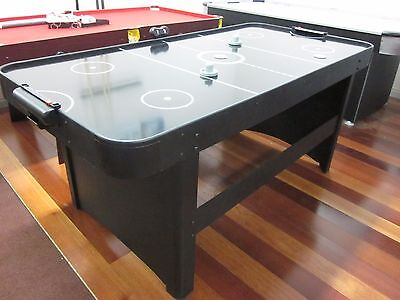Second 6 Foot Air Hockey Table With Electric Fan And Accessories