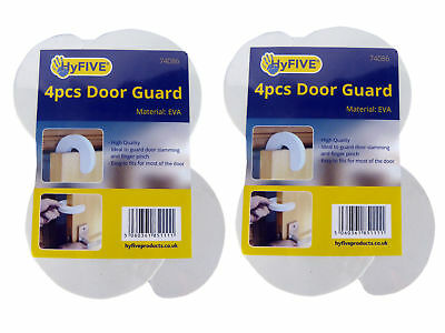 4Pc Baby Child Safety Door Guard Kids Finger Protector Stoppers Jammer