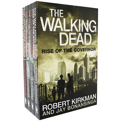 The Walking Dead Collection - 4 Book Set, Fiction Books, Brand New