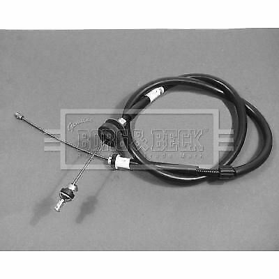 BORG & BECK BKC1141 CLUTCH CABLE fit Renault 19 1.4-1.9 89-94