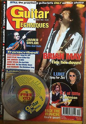 Guitar Techniques magazine and CD, December 1994