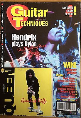 Guitar Techniques magazine and CD, July 1995