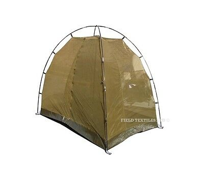 Two Person Mosquito Net Tent - Double - Large - Olive Green - British Army - NEW