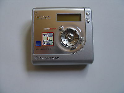 Sony MZ-NH700 HI-MD-Recorder *Silber*