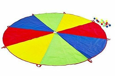 Childrens Play Parachute 2.5m & 20 Balls Outdoor Exercise Sport Game Party Toy