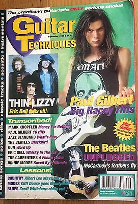 Guitar Techniques magazine (pre CD) September 1994