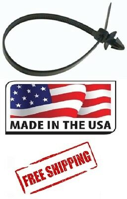 (25) - Push Mount Cable Tie For Imports 200mm Length Made in USA Free Shipping