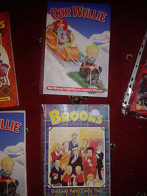 Oor Wullie/The Broons books x 2
