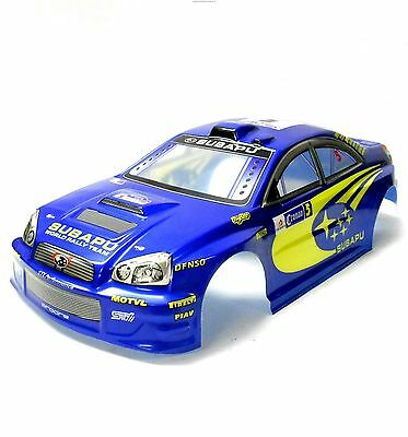 H6868-3 1/10 Scale Drift On Road Touring Car Body Cover Shell RC Blue 190mm Wide