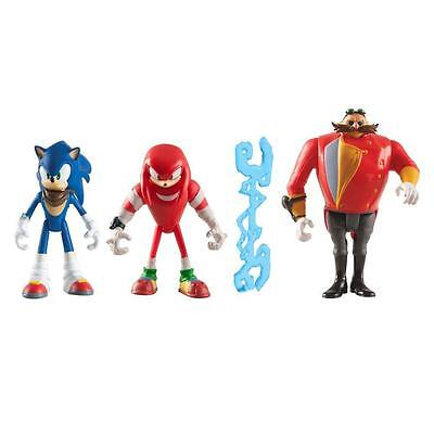 Tomy T22514 Sonic the Hedgehog Boom Diorama/Knuckles/Eggman & Tether Figure