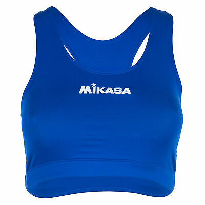Mikasa TORJ Bikini Top royalblau Beachvolleyball Shirt Damen Volleyball Beach