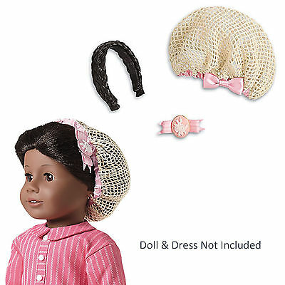 American Girl ADDY HAIRSTYLING SET for Dolls Snood Hairpiece Historical NEW