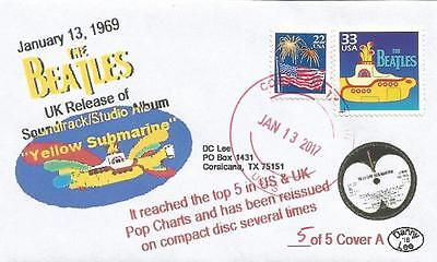 """VERY LAST 13 JAN '69 Beatles UK Release """"Yellow Submarine"""" Soundtrack #5 Cover A"""