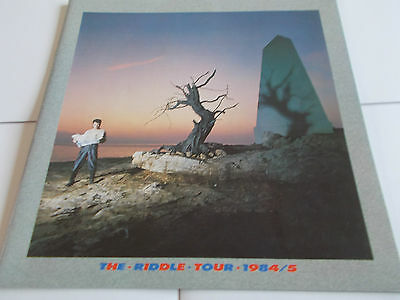 Nick Kershaw 1984/85 Concert Programme The Riddle