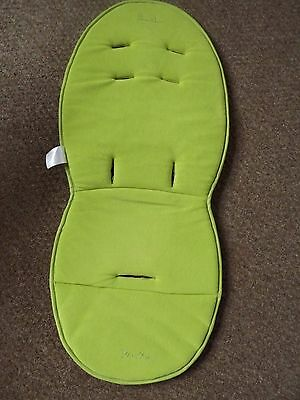 Silver Cross Surf Reversible Seat Liner in Lime Green